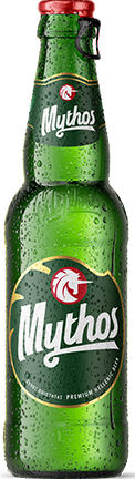 Mythos beer bottle 330ml