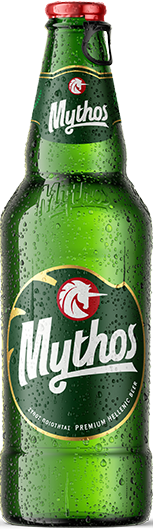 Mythos beer bottle 500ml