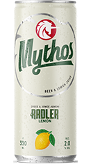 Mythos beer radler tin 330