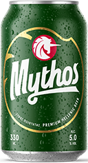 Mythos beer tin 330ml