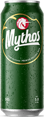 Mythos beer tin 500ml