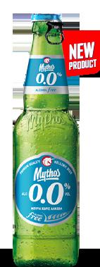 Μπύρα Mythos μπουκάλι 500ml